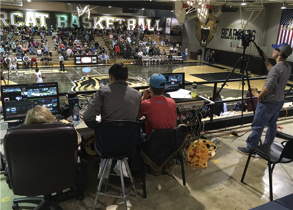 CHSBN broadcasting CHS basketball