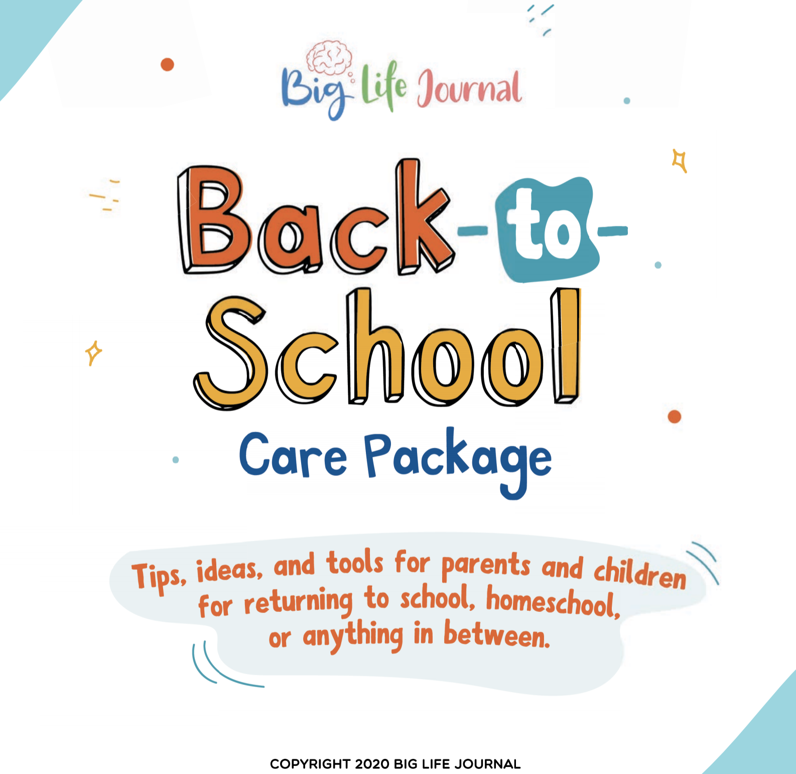 click here to view a back-to-school care package guide