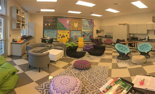 Changing the face of a classroom... Welcome to FACTS room 103